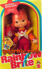 Rainbow Brite Doll Red Butler