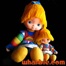 Rainbow Brite Doll Sizes