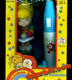 Rainbow Brite Battery Operated Toothbrush