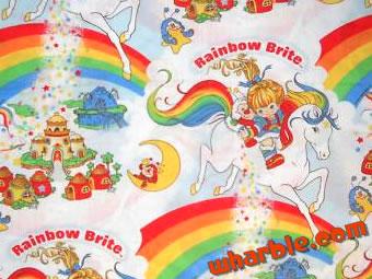 Rainbow Brite Fabric