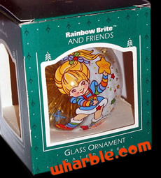 Rainbow Brite Ornament