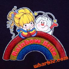 Rainbow Brite Glitter T-Shirt