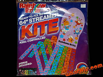 Rainbow Brite Kite