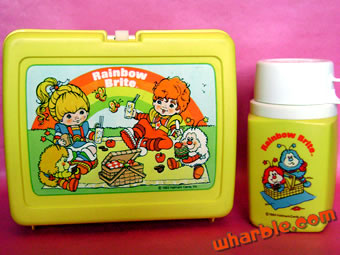Rainbow Brite Lunchbox