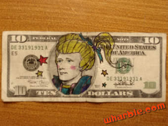 Handmade Rainbow Brite Money