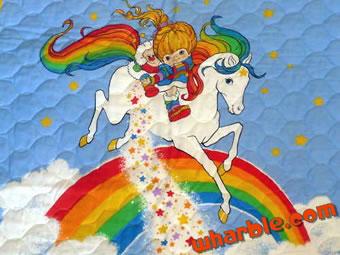 Rainbow Brite Quilt