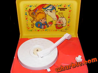 Rainbow Brite Record Player