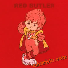 Red Butler T-Shirt