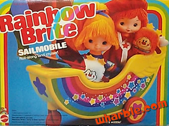 Rainbow Brite Sailmobile