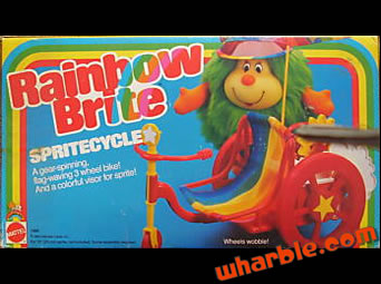 Rainbow Brite Sprite Cycle