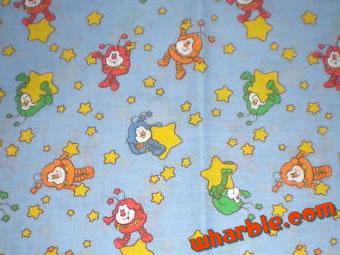 Rainbow Brite Sprites Fabric