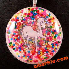 Rainbow Brite Starlite Necklace