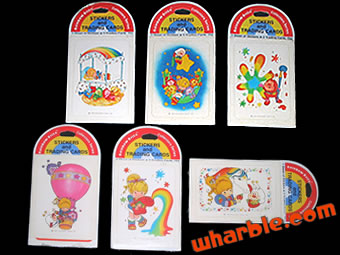 Rainbow Brite Stickers & Trading Cards