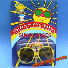 Rainbow Brite Sunglasses