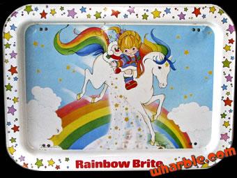 Rainbow Brite Tray