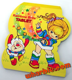 Rainbow Brite Tablet