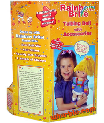 Talking Rainbow Brite Doll
