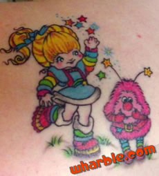 Rainbow Brite Tattoo