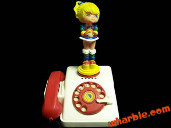 Rainbow Brite Telephone
