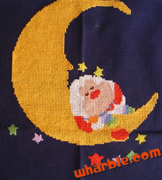 Rainbow Brite Cross Stitch