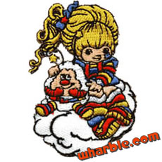 Rainbow Brite Patch