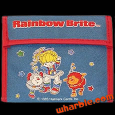 Rainbow Brite Wallet