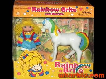 Rainbow Brite and Starlite Action Figures