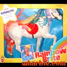 Rare Starlite Horse