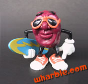 Rare Surfboard California Raisin Figure
