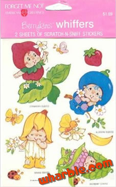 Berrykins Scratch-n-Sniff Stickers
