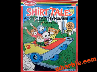 Shirt Tales Paint-By-Number