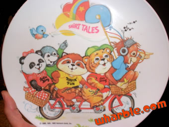 Shirt Tales Plate