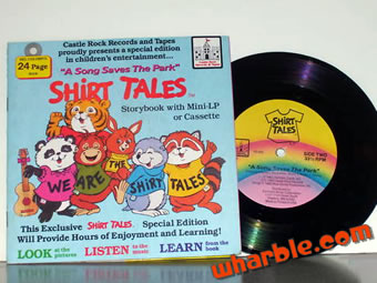 Shirt Tales Storybook Record