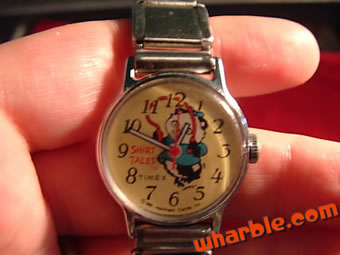 Shirt Tales Watch