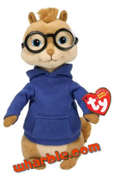 Alvin & the Chipmunks Beanie Babies