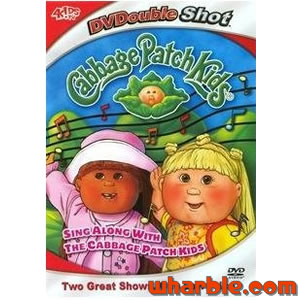 Sing Along with The Cabbage Patch Kids DVD
