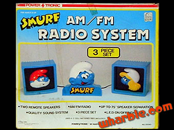 Smurf Radio & Speakers