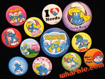 Smurf Buttons
