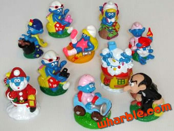 Smurf Candy Toppers