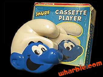 Smurfs Cassette Player