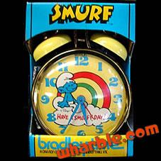 Smurf Clock