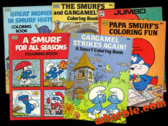 Smurf Coloring Books