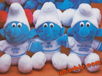 Smurf Dolls - Cute Messages