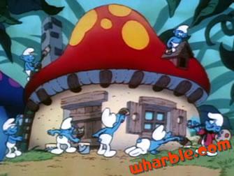 Smurf House
