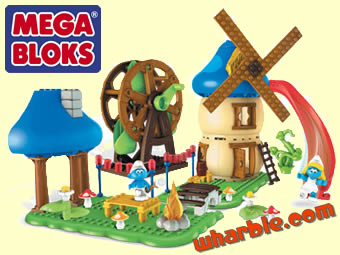Smurf Mega Bloks