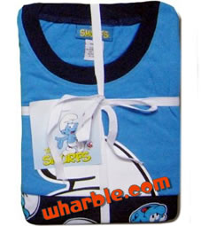 Smurf Pajamas Set