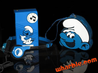 Smurf Radio & Headset