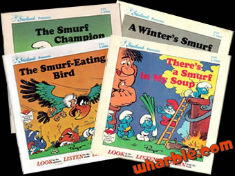 The Smurfs Read-Along Books
