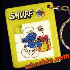Smurf Slide Puzzle
