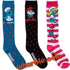 Smurf Socks